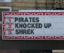 Funny photos - Pirates n Shrek