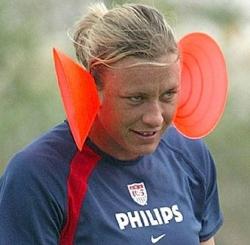 Funny photos - Psycho soccer star