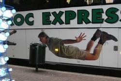 Funny photos - An ad of Steve Irwin