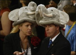 Funny photos - Republican's hats