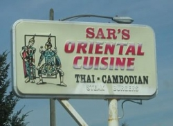 Funny photos - Cambodia food