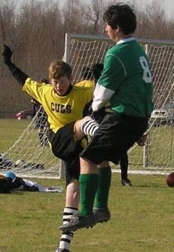 Sportsmen photo - High kick