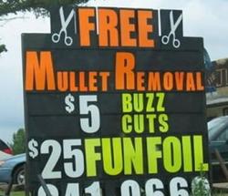 Funny photos - Southern babershop