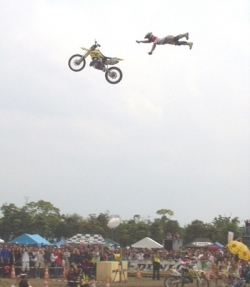 Sportsmen photo - Stunt gone bad