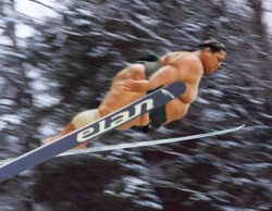 Funny photos - Sumo like skiing