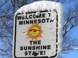 Funny photos - Sunny Minnesota
