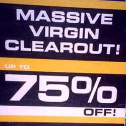 Funny photos - Virgin clearout