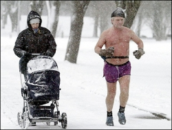 Funny photos - Hard winter