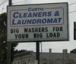 Funny photos - Cleaner & Laudromat