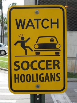 Funny photos - Soccer hooligans