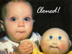 Baby pictures - Cloned?