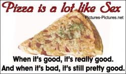 Funny photos - Pizza & sex
