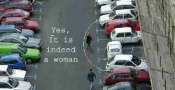 Funny photos - It is indeed a woman