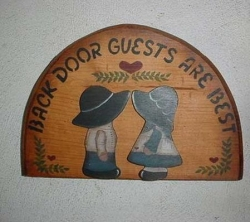 Funny photos - Back door guests