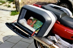 Funny photos - A new bed for baby