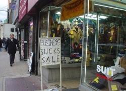 Funny photos - Business sucks sale