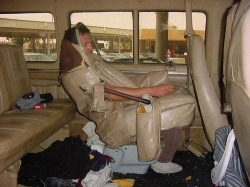 Funny photos - The toilet in car