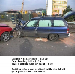 Funny photos - Getting into a car