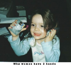 Baby pictures - Why women have two hands
