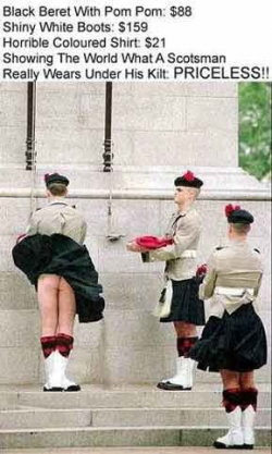 Funny photos - What a Scotsman