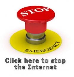Funny photos - Emergency buttom