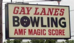Funny photos - Gay lanes
