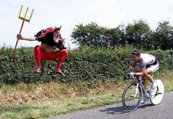 Sportsmen photo - Cycling Satan