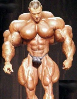 Funny photos - Ugly muscle man