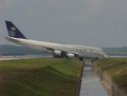 Funny photos - Plane having bath