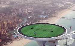 Funny photos - Tennis ground