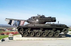 Funny photos - The tank in peace