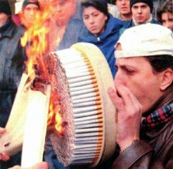 Funny photos - The super smoker