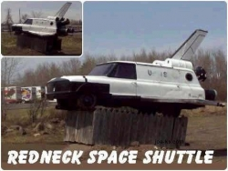 Funny photos - Redneck space shuttle