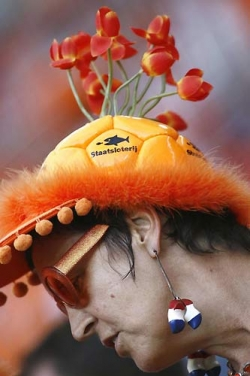 Funny photos - Colourful hat