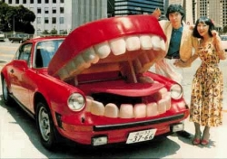 Funny photos - The car of a dentist