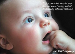 Baby pictures - Be kind anyway