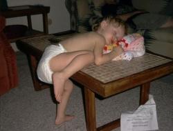 Baby pictures - Sleepy kid