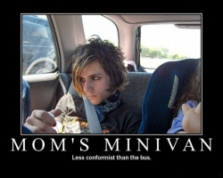Funny photos - Mom's Minivan