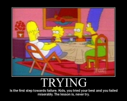 Funny photos - Trying