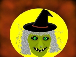 Halloween pictures - Witch face