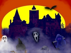 Halloween pictures - Haunted castle