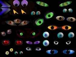 Halloween pictures - Eyes