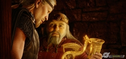 Movie picture - Beowulf and Hrothgar