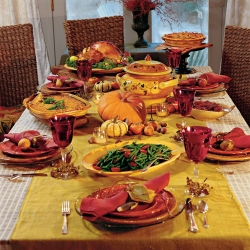 Thanksgiving pictures - Thanksgiving feast