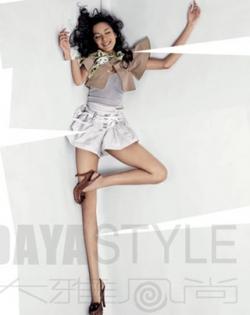 Celebrity photos - Miss World 07 - Zhang Zilin - Fashion 3