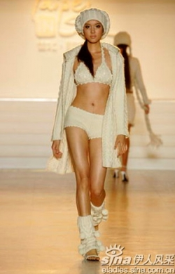 Celebrity photos - Miss World 07 - Zhang Zilin - Catwalk2