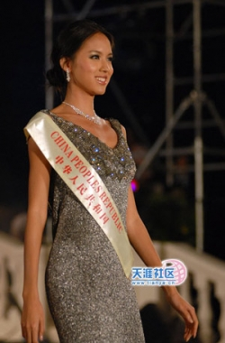 Celebrity photos - Miss World 07 - Zhang Zilin - Catwalk10