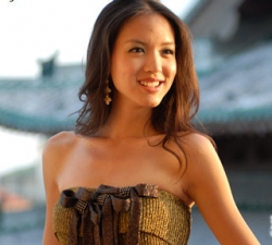 Celebrity photos - Miss World 07 - Zhang Zilin - Dress2