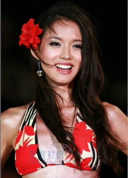 Celebrity photos - Miss World 07 - Zhang Zilin - Bikini2