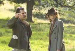 Movie picture - Joe Wright and Keira